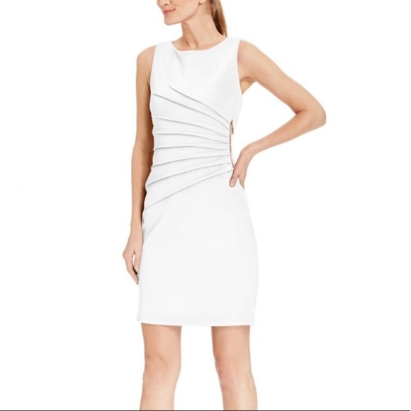 Ivanka Trump Dresses & Skirts - White and Gold Ivanka Trump Dress